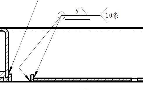 两端都是箭头的形位公差怎么标-诺机械符号标注之多箭头功能